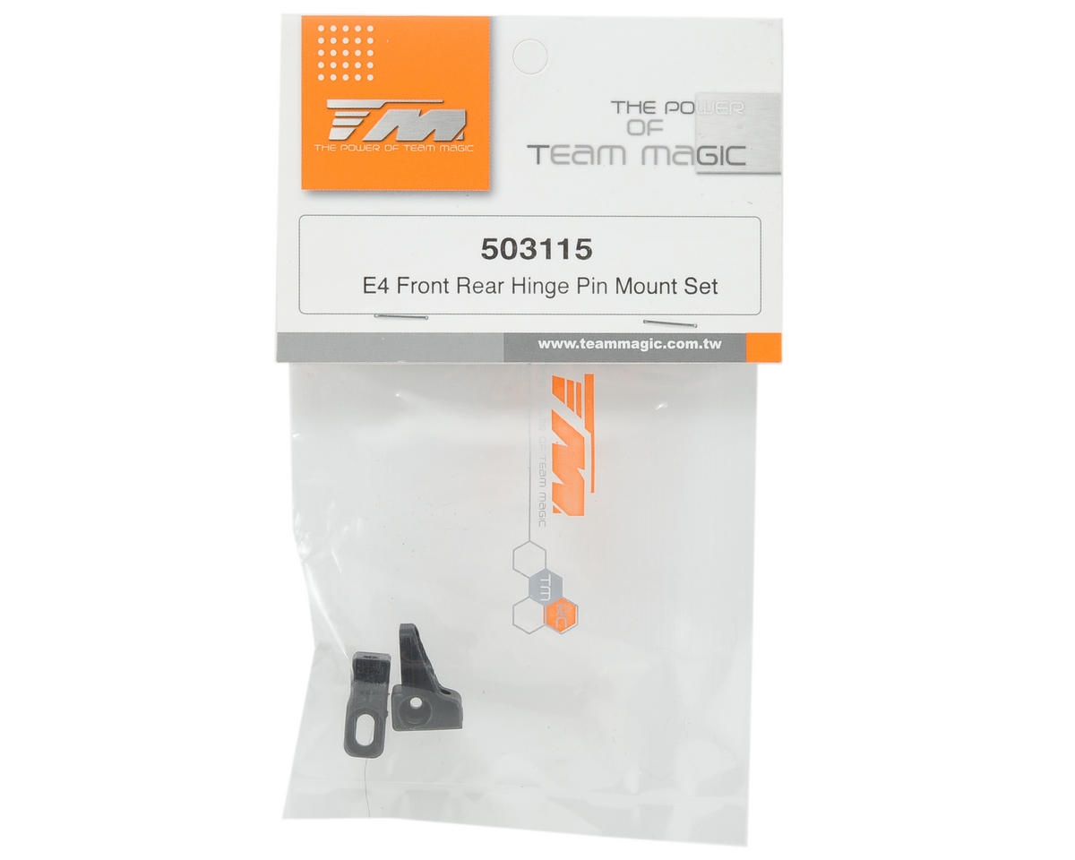 Team Magic Hinge Pin Mount Set