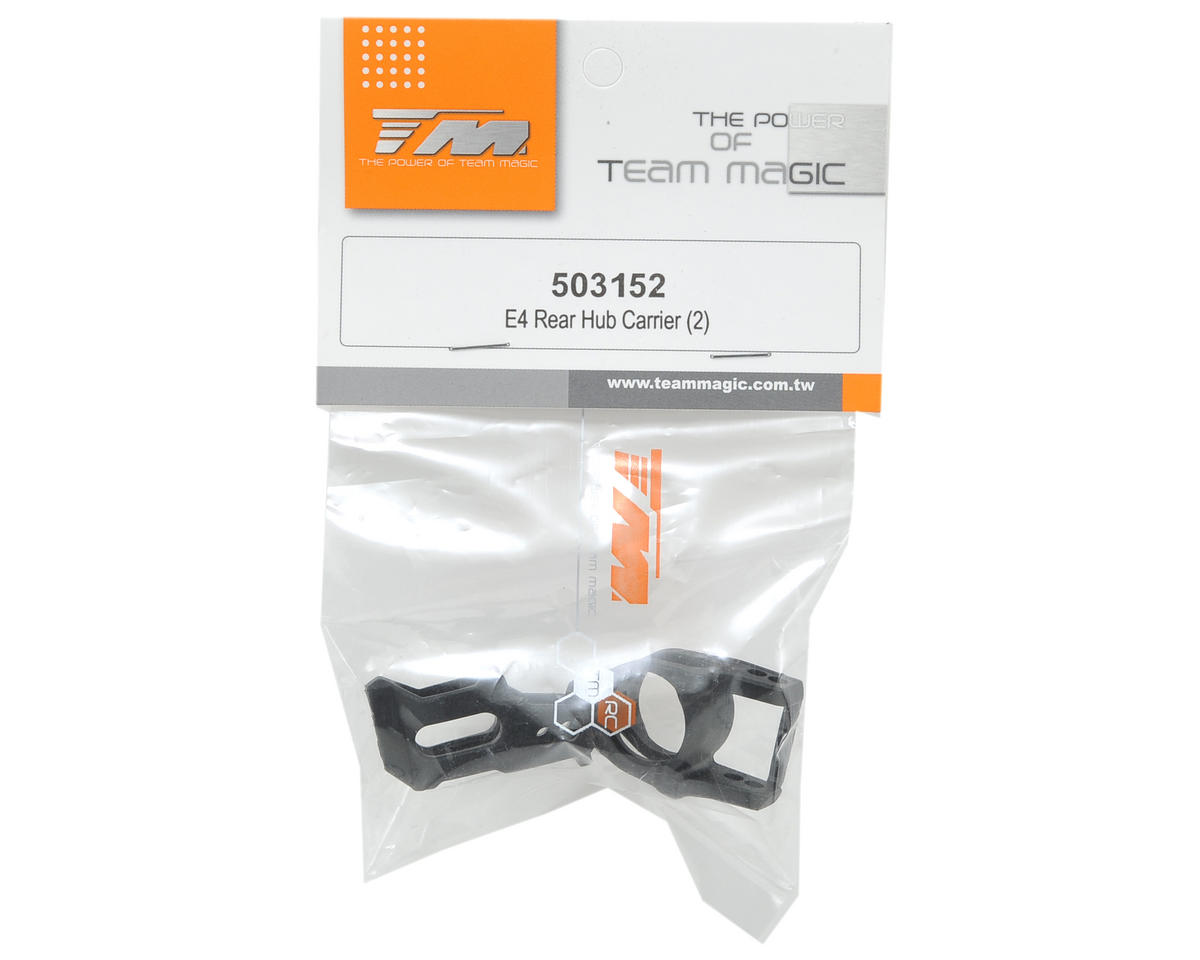 Team Magic Rear Hub Carrier Set (2)