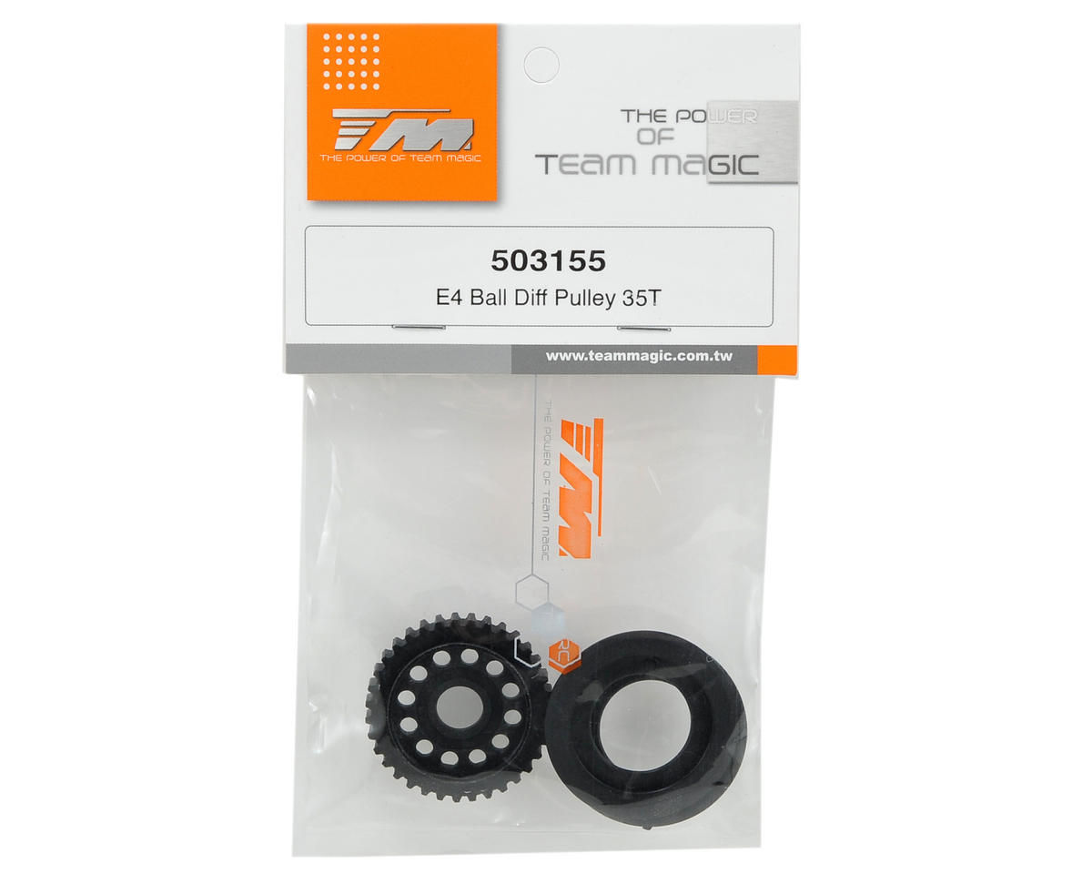 Team Magic Ball Differential Pulley (35T)