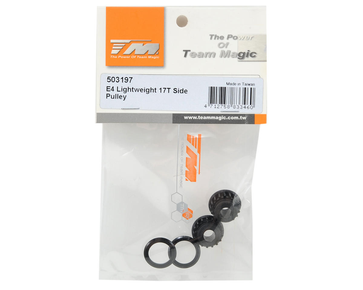 Team Magic 17T Lightweight Nylon Side Pulley (2)