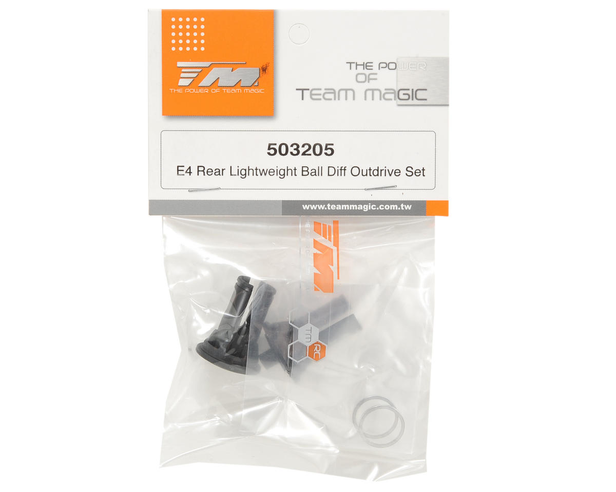 Team Magic Lightweight Rear Ball Differential Outdrive Set