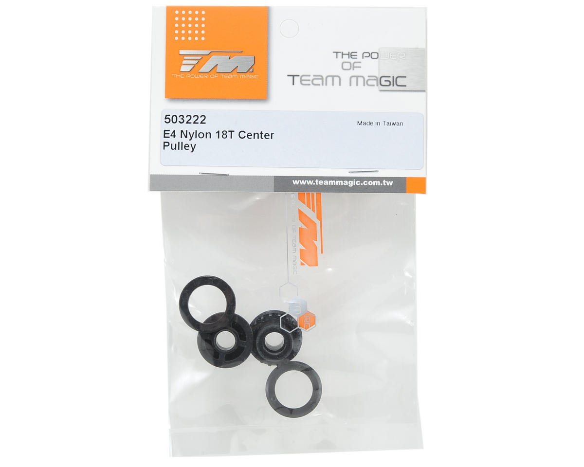 Team Magic Nylon 18T Center Pulley (2)