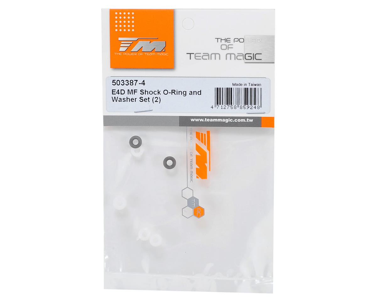 Team Magic Shock O-Ring & Washer Set (2)