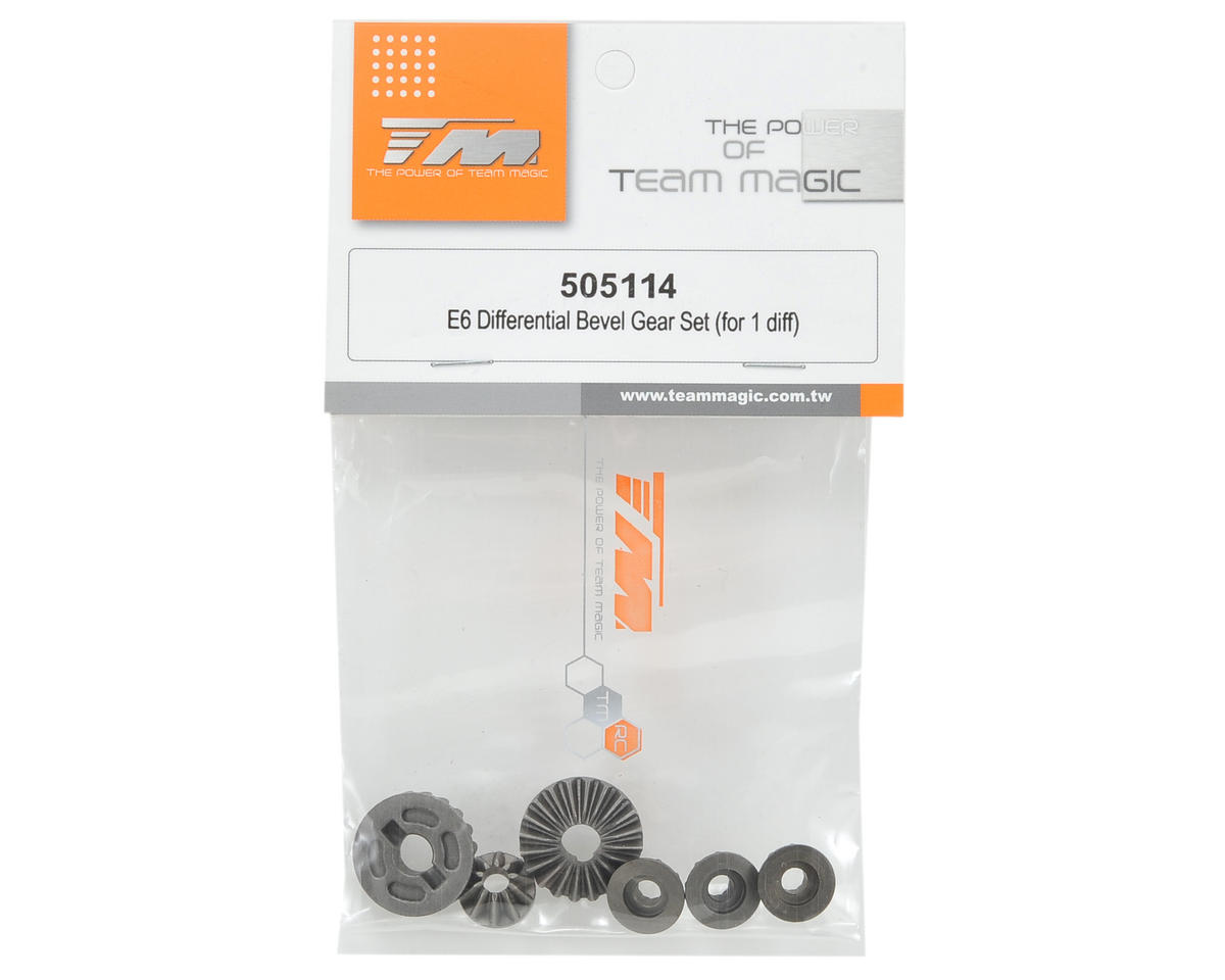 Team Magic Differential Bevel Gear Set