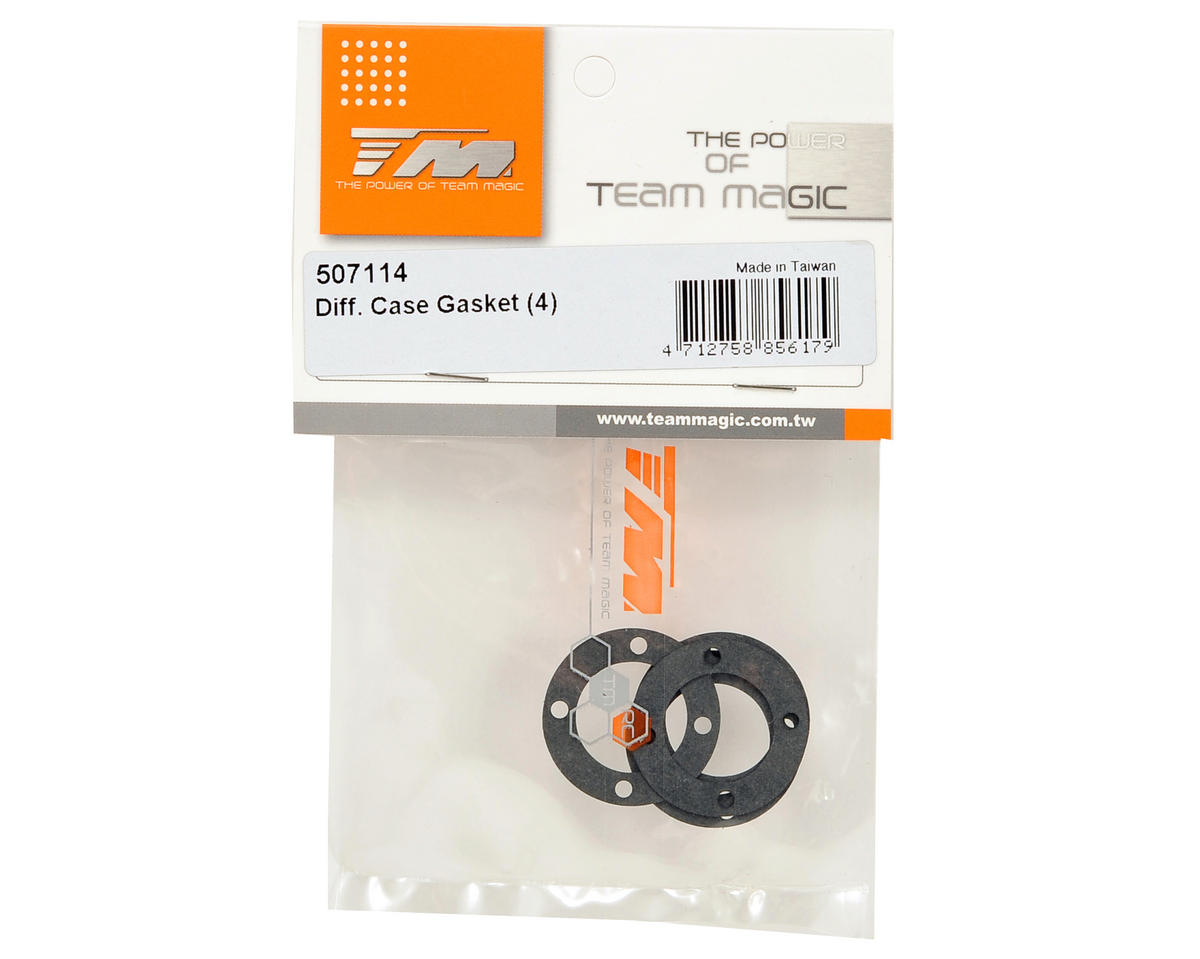 Team Magic Differential Case Gasket Set (4)