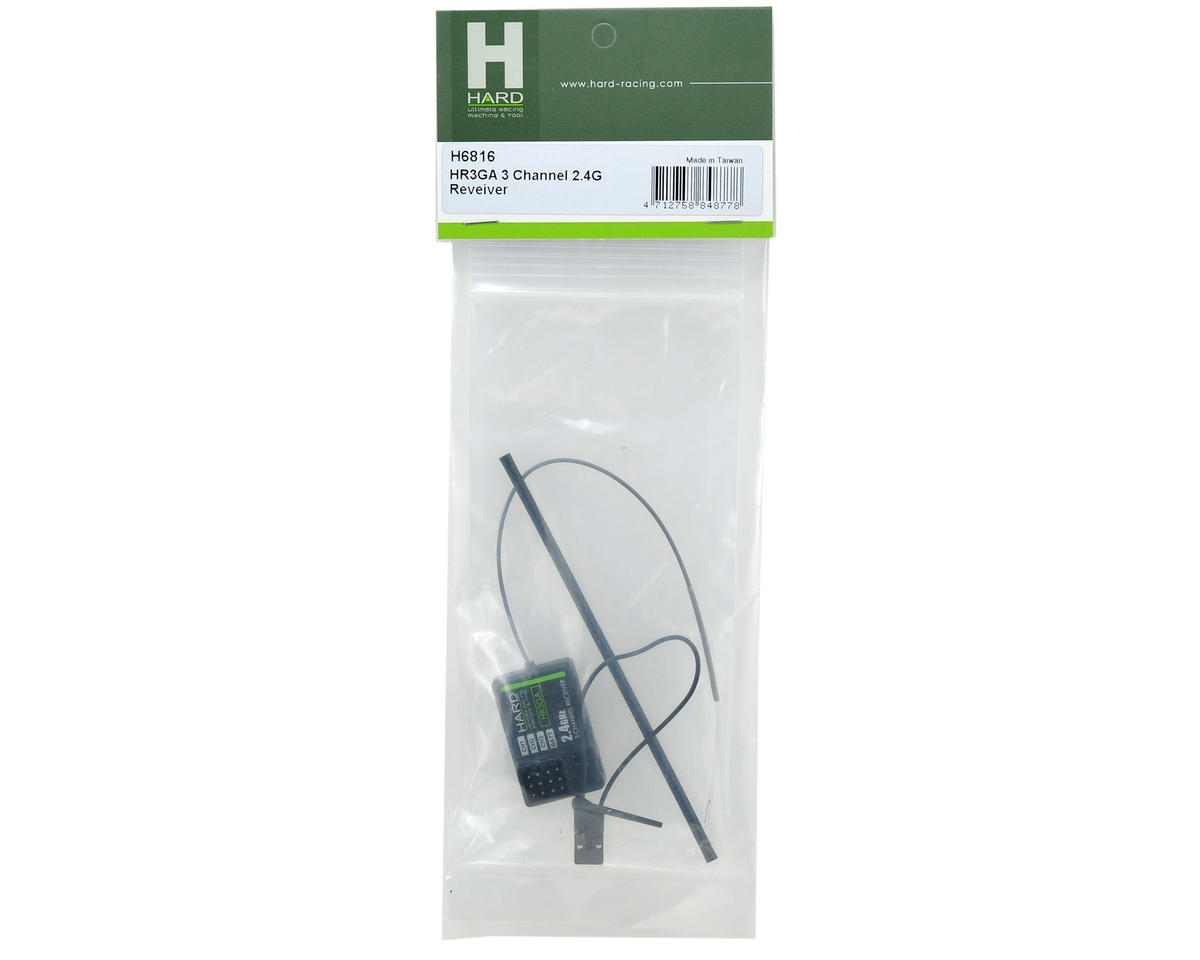 Team Magic H.A.R.D. HR3GA 3-Channel 2.4GHz Receiver