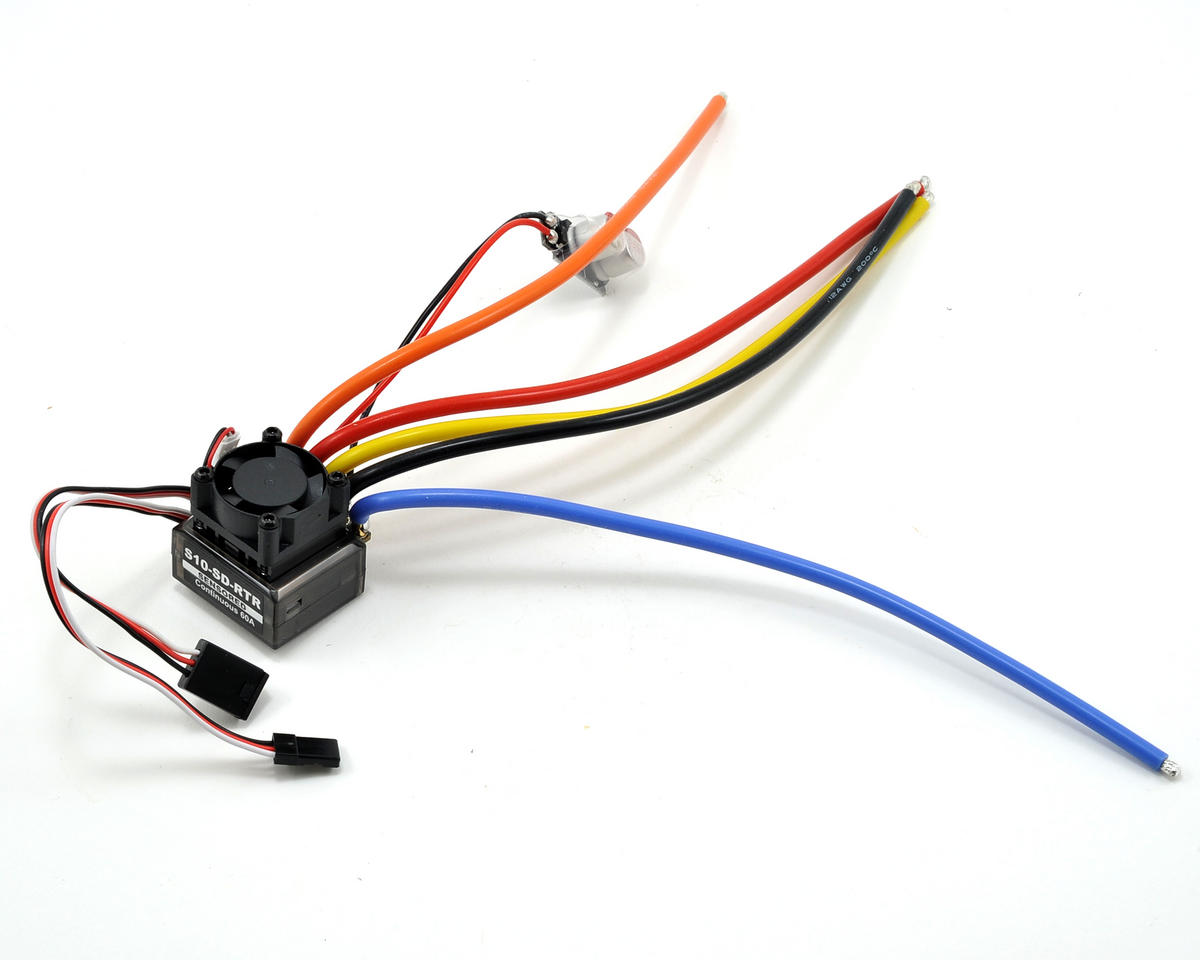 Team Magic 60A 2S Sensored Brushless ESC