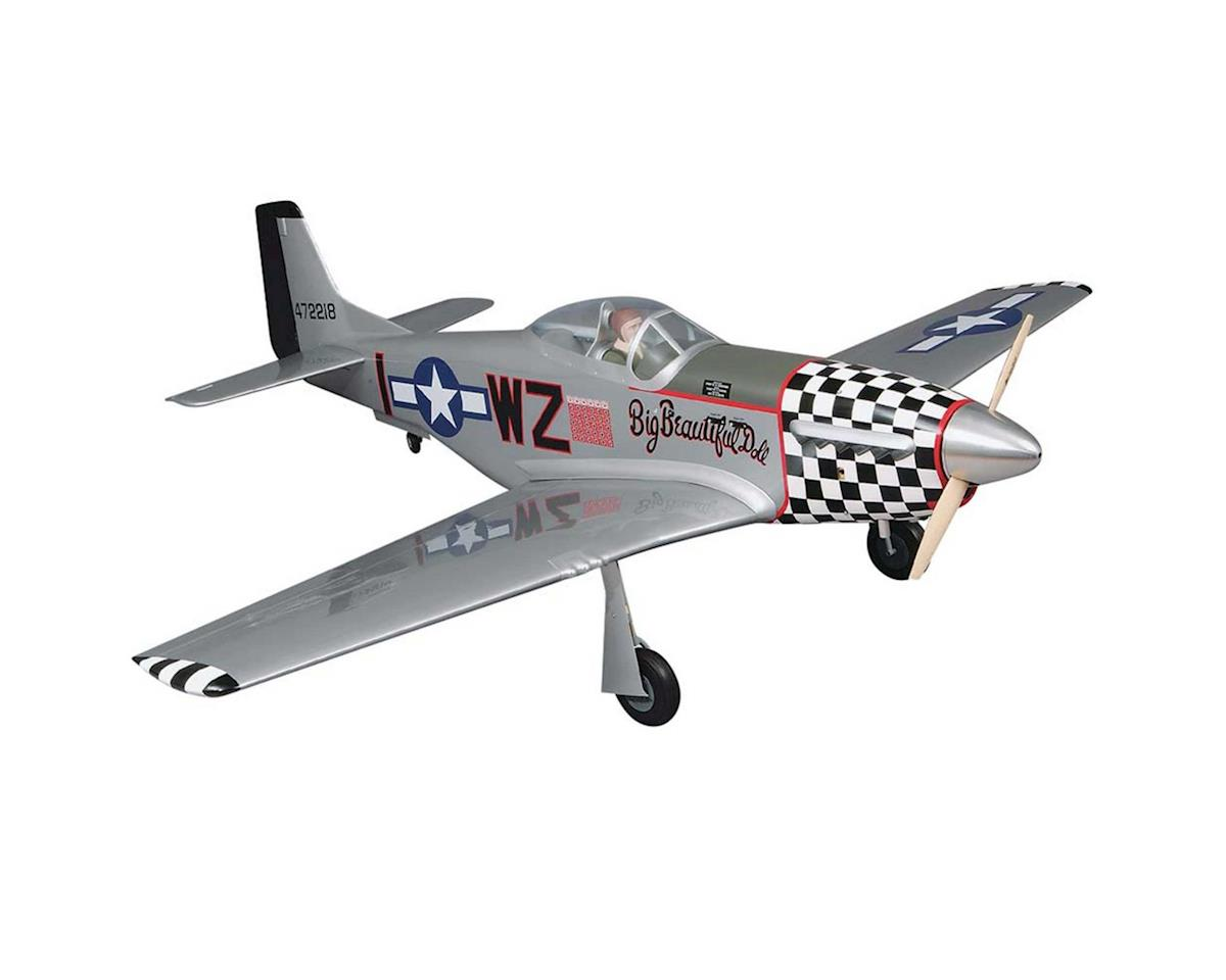 "Giant P-51D Mustang ARF 2.1-2.8 84.5"" by Top Flite"