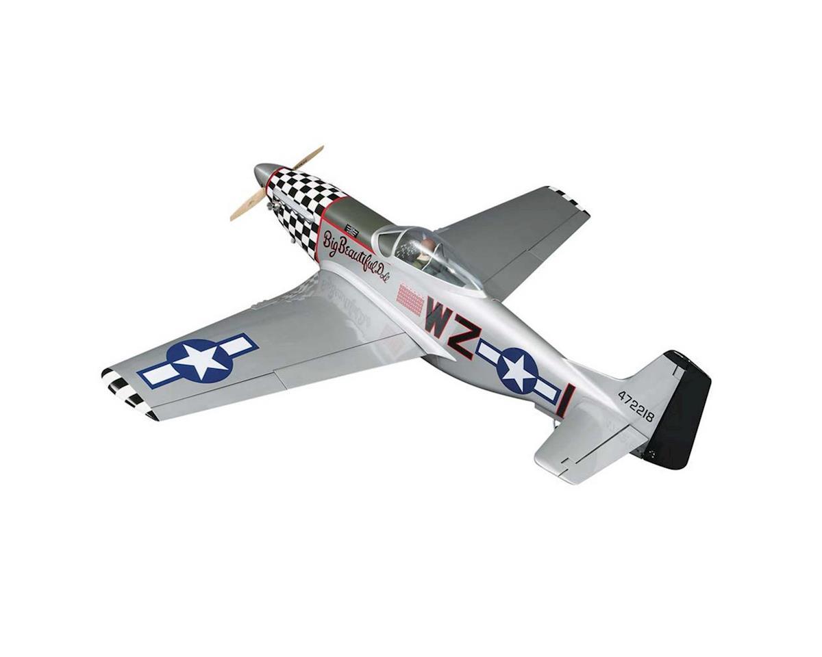 "Top Flite Giant P-51D Mustang ARF 2.1-2.8 84.5"""