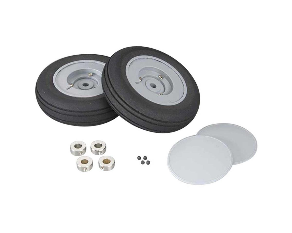Wheel Set w/Covers AT-6 ARF (2) by Top Flite