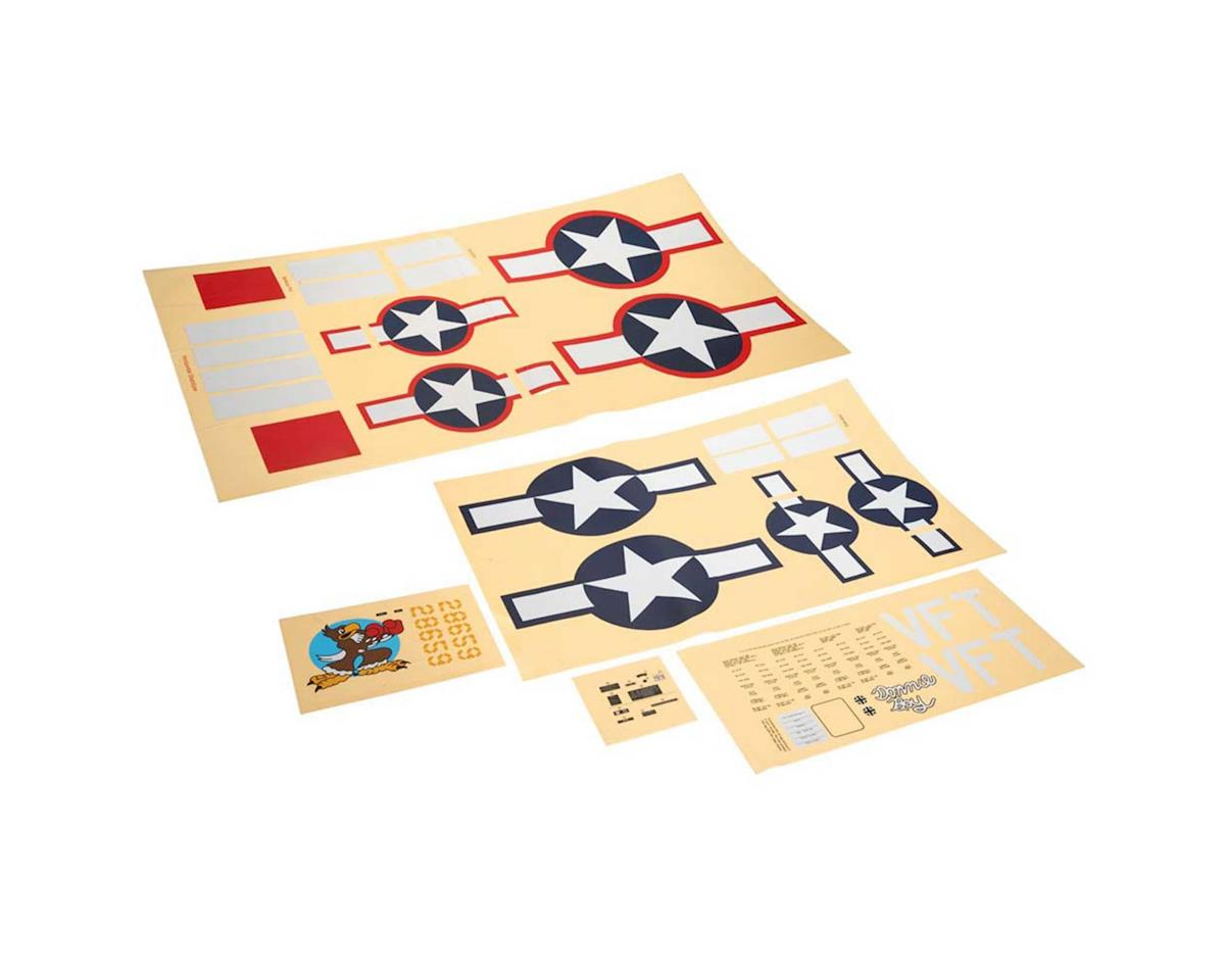 Top Flite Decals Giant P-47D Razorback ARF
