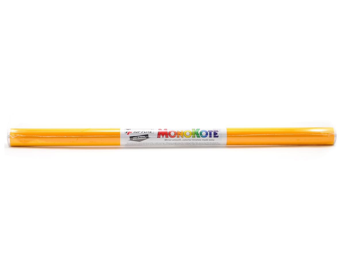Top Flite Monokote Cub Yellow 6'