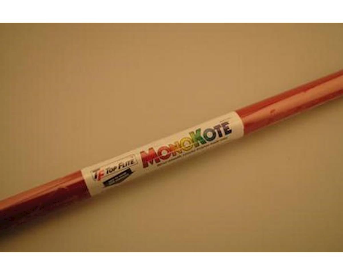 Top Flite MonoKote True Red 6'