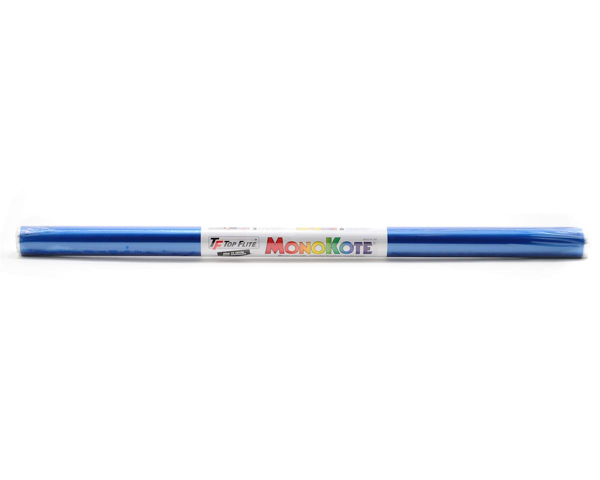 Top Flite Monokote Metallic Blue 6'
