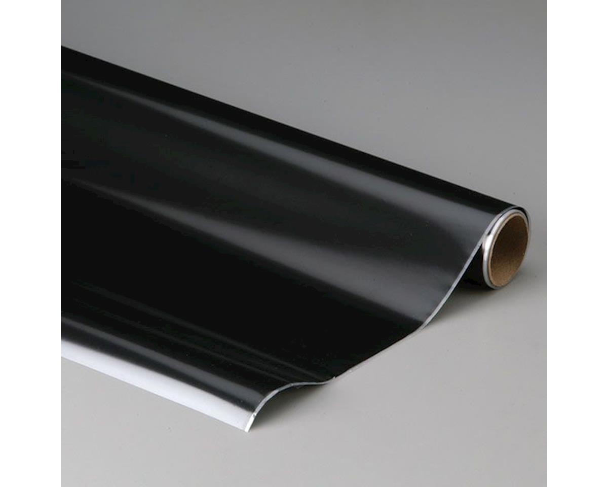 MonoKote Flat Black 6' by Top Flite