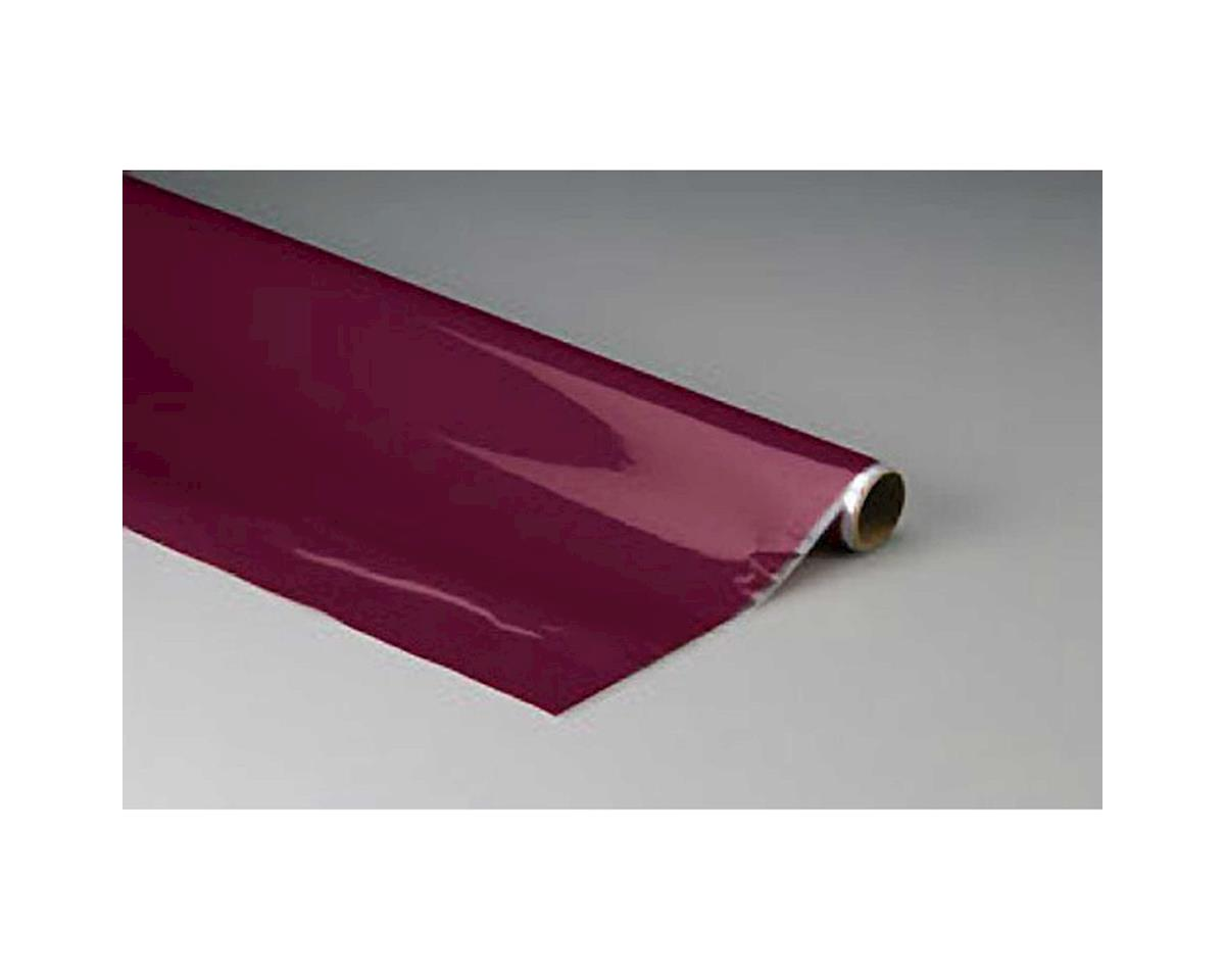 MonoKote Maroon 25' by Top Flite