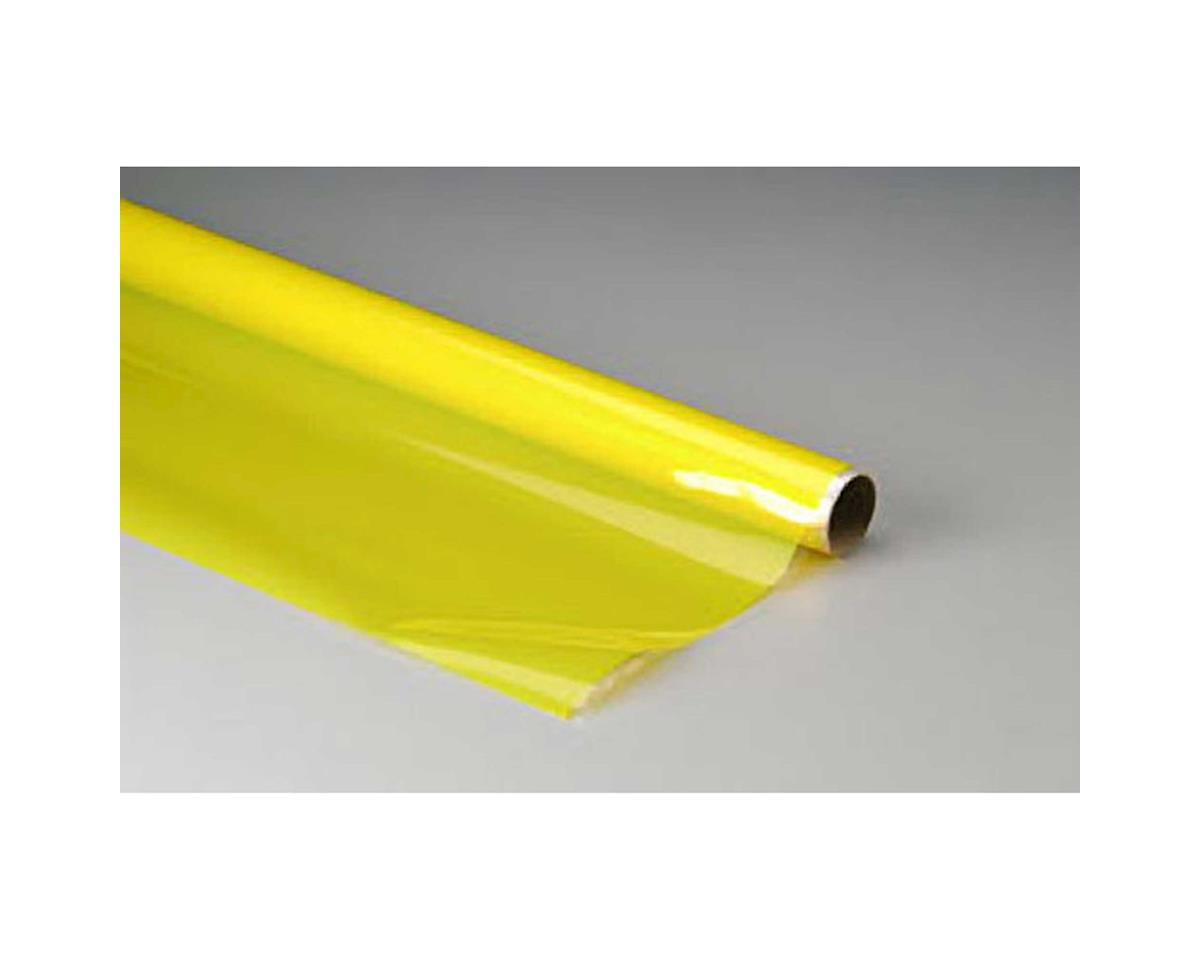 MonoKote Transparent Yellow 25' by Top Flite