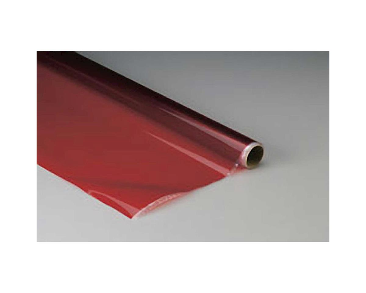 Top Flite MonoKote Transparent Red 25'