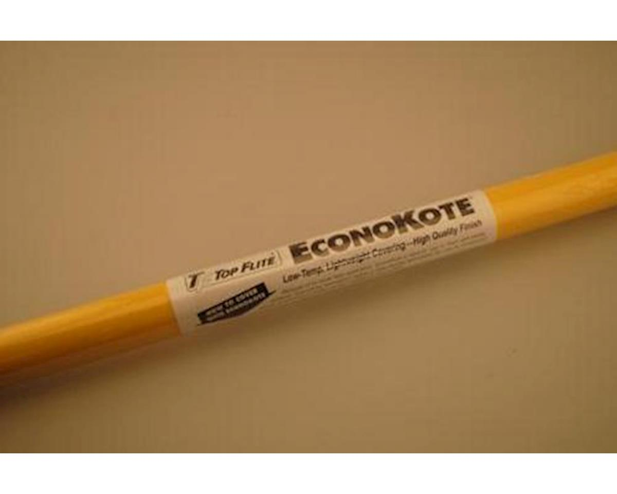 Top Flite EconoKote Yellow 6'