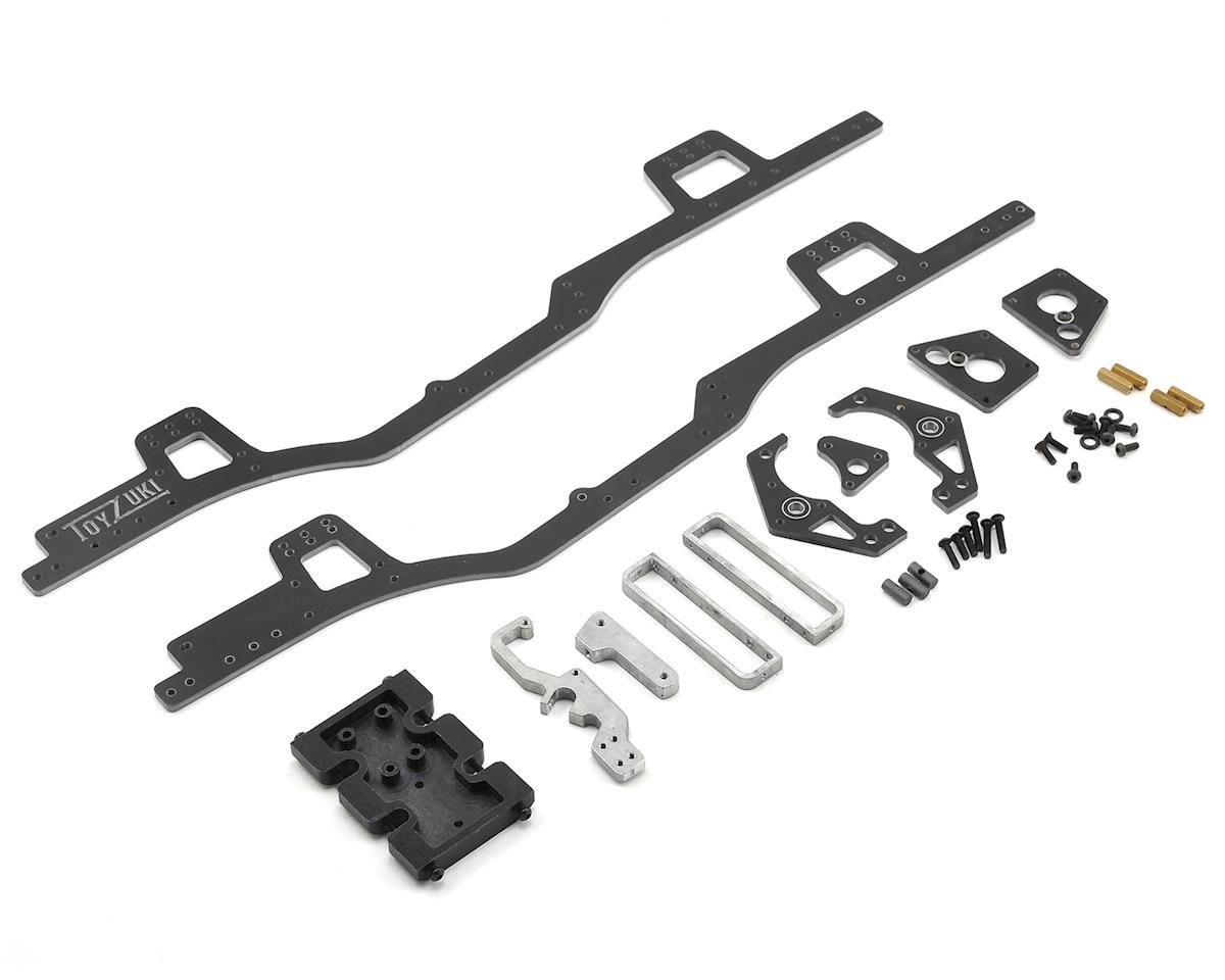 Toyzuki Fabrication V1 SCX10 Forward Motor Chassis Kit