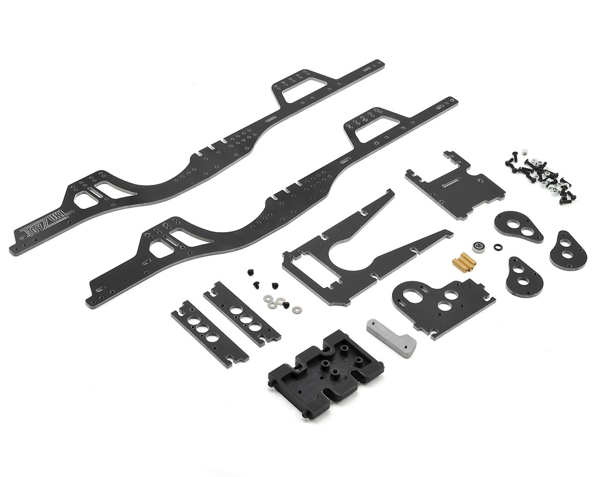 Toyzuki Fabrication V2 SCX10 II Forward Motor Chassis Kit  (AXI90046/AXI90075 Kit Only)
