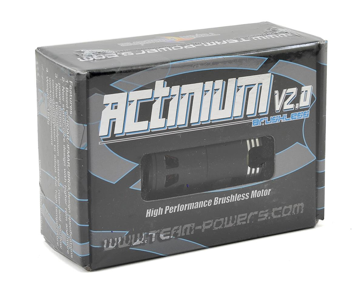 Actinium V2 Competition Sensored Brushless Motor (8.5T) by Team Powers