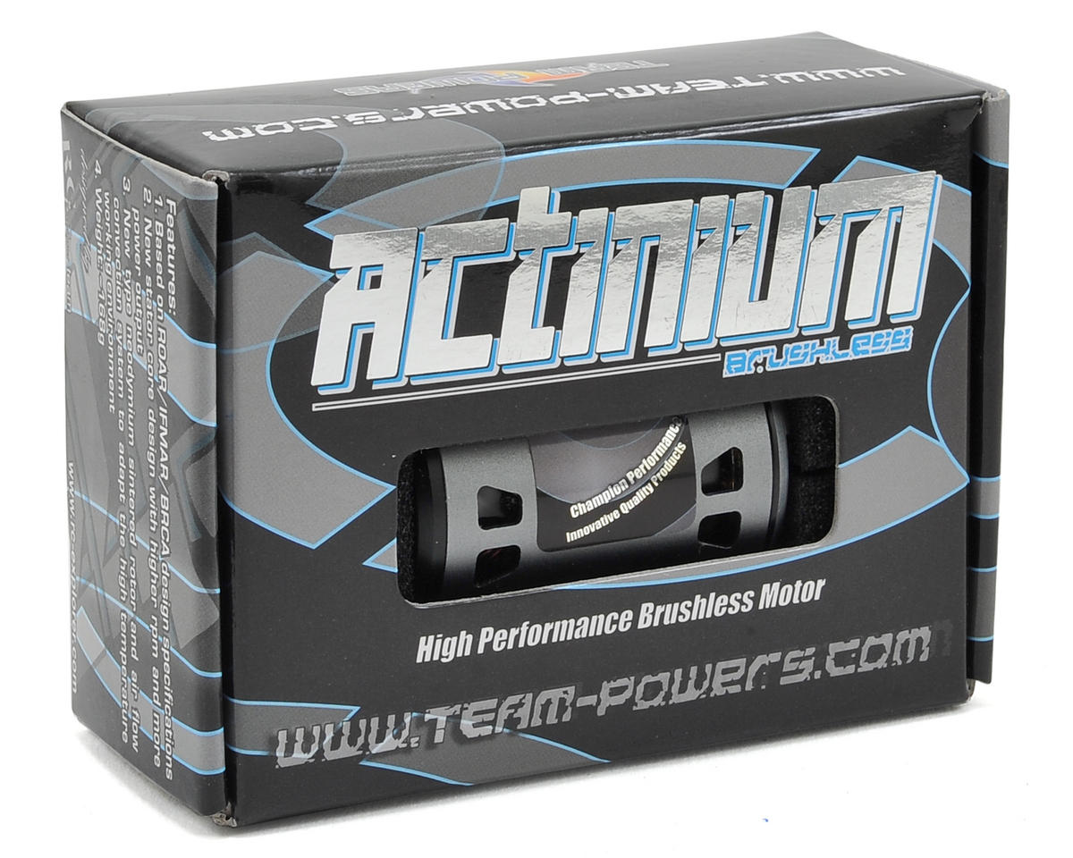 Team Powers Actinium Competition Sensored Brushless Motor (9.5T)