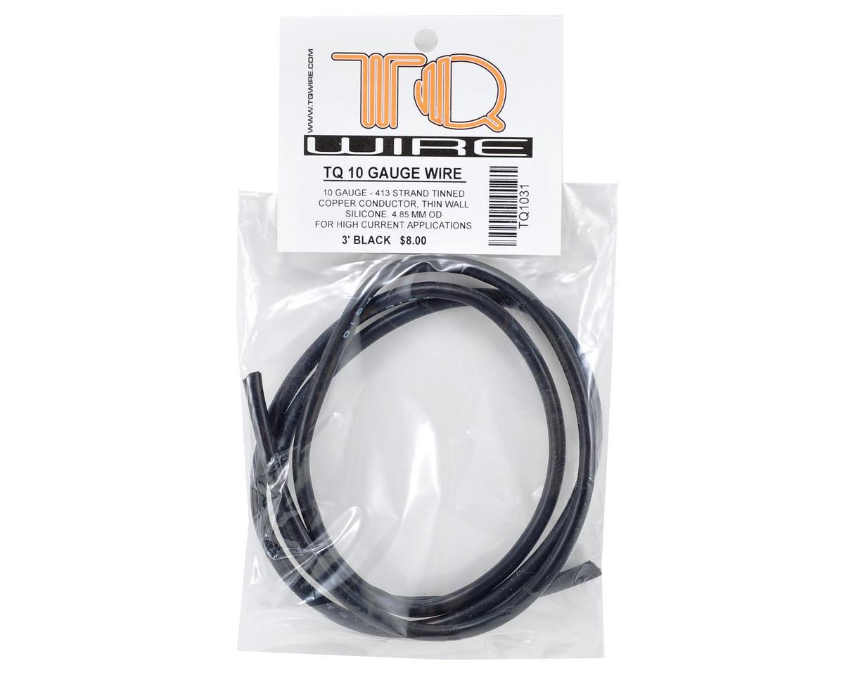 TQ Wire 10awg Silicone Wire (Black) (3')