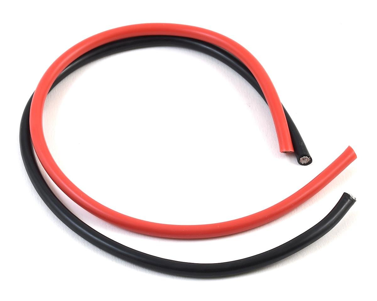 "10AWG Power Wire Kit (Black & Red) (12"") by TQ Wire"