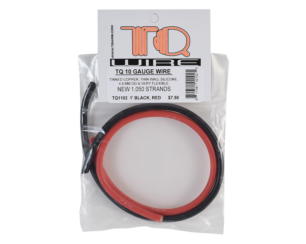 TQ Wire 10AWG Power Wire Kit (Black & Red) (12\