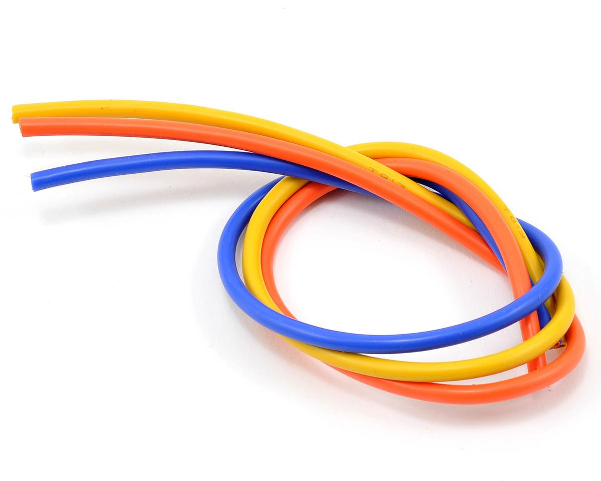 13awg 3 Wire Kit (Blue/Yellow/Orange) (1'ea)