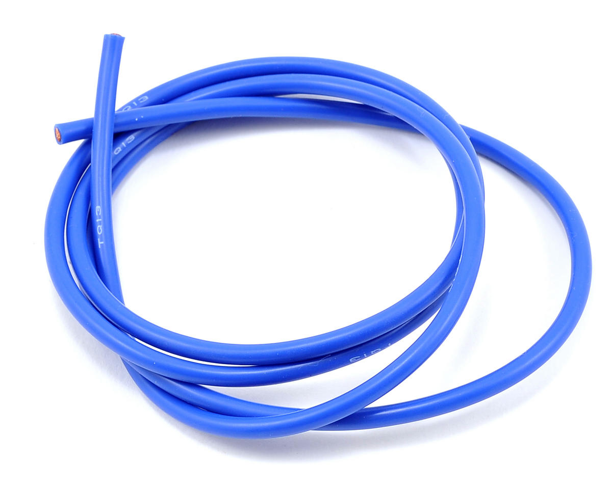 13awg Silicone Wire (Blue) (3') by TQ Wire