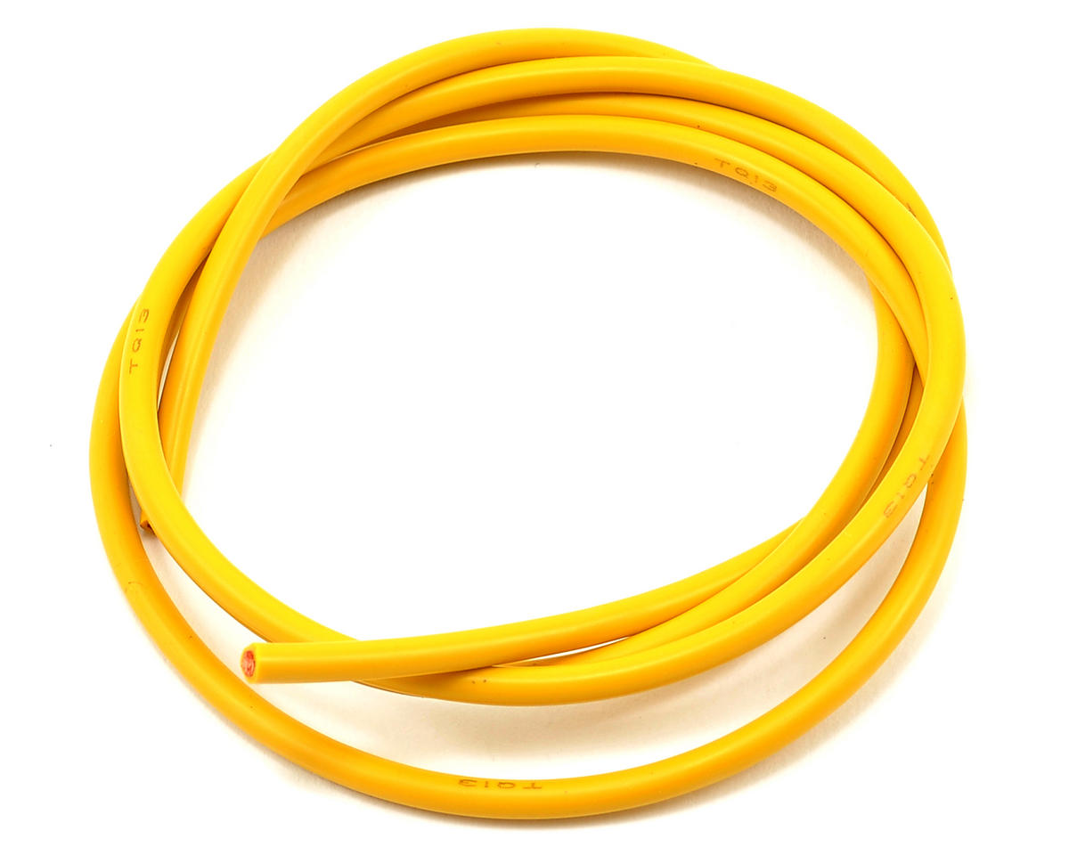 TQ Wire 13awg Silicone Wire (Yellow) (3')