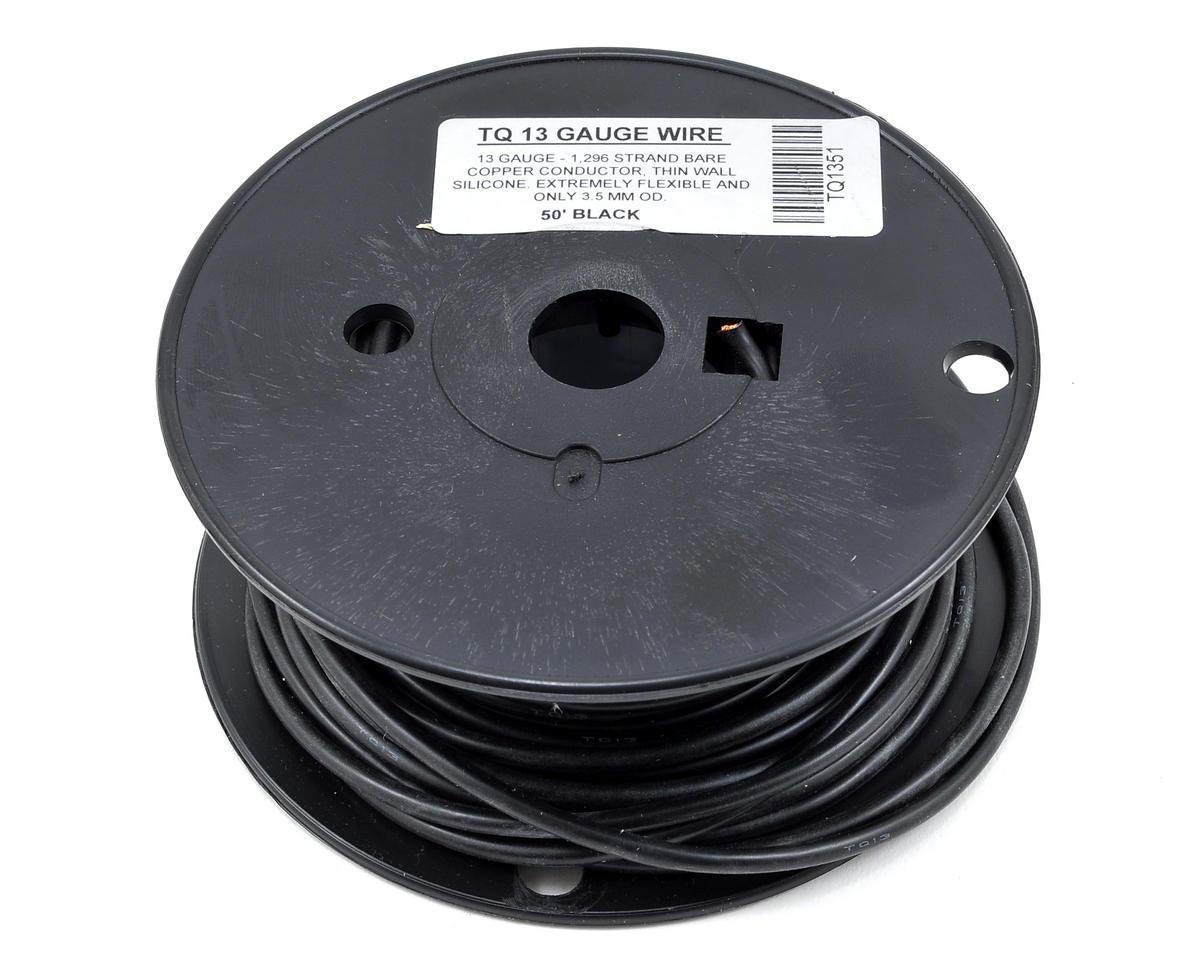 TQ Wire 13awg Silicone Wire (Black) (50')