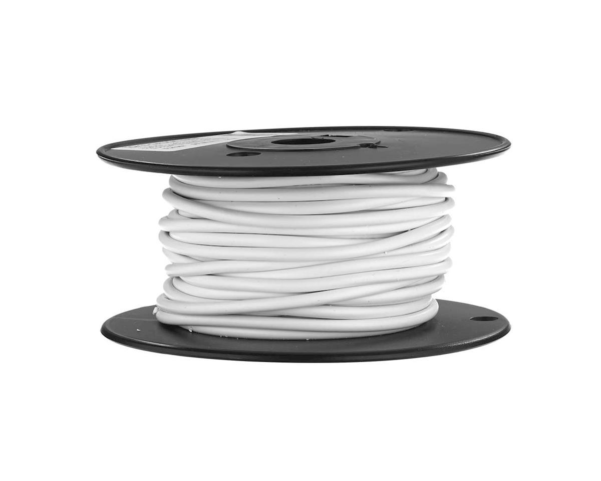 TQ Wire 13 Gauge 1,296 Strand Bare Copper 50' White