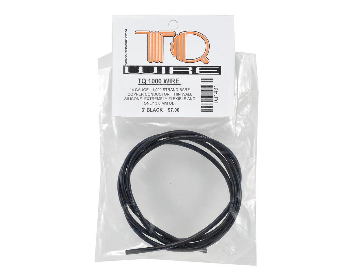 TQ Wire 14awg Silicone Wire (Black) (3')