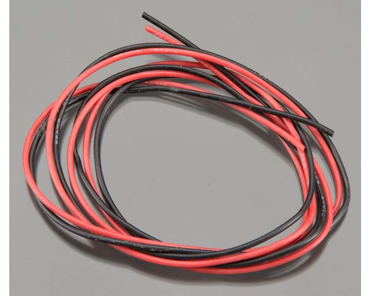 22 Gauge Thin Wall Silicone Wire (3') by TQ Wire