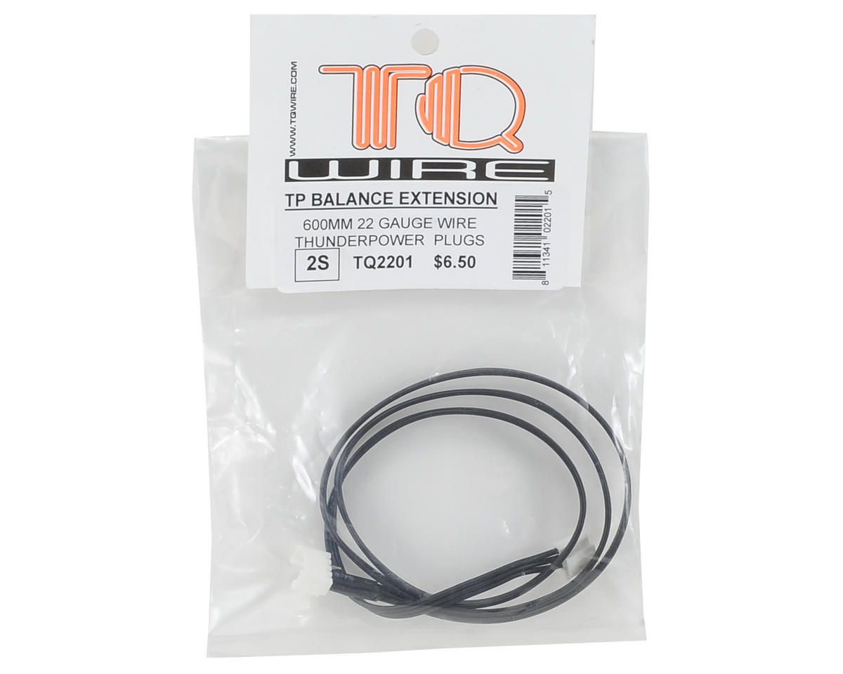 TQ Wire 2S Balance Extension (Thunder Power Plug) (600mm)