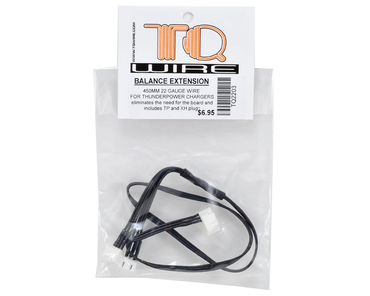 TQ Wire 2S ThunderPower Balance Extension (450mm)