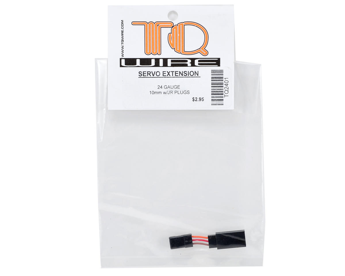 TQ Wire JR Servo Extension (10mm)