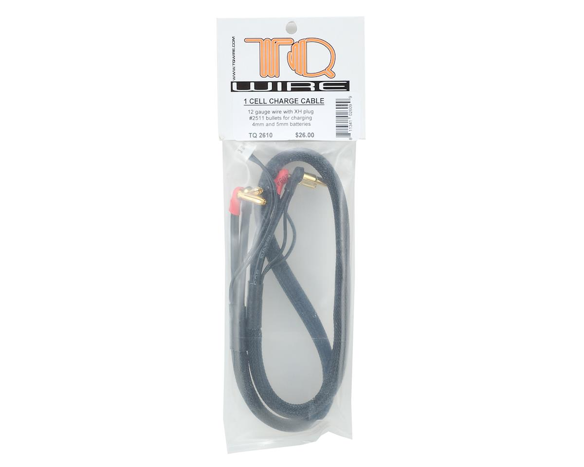 TQ Wire 1S Charge Cable w/4mm & 5mm Bullet Connector (2')