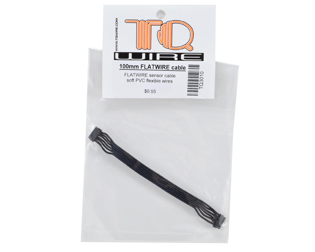 TQ Wire Flatwire Sensor Cable (100mm)