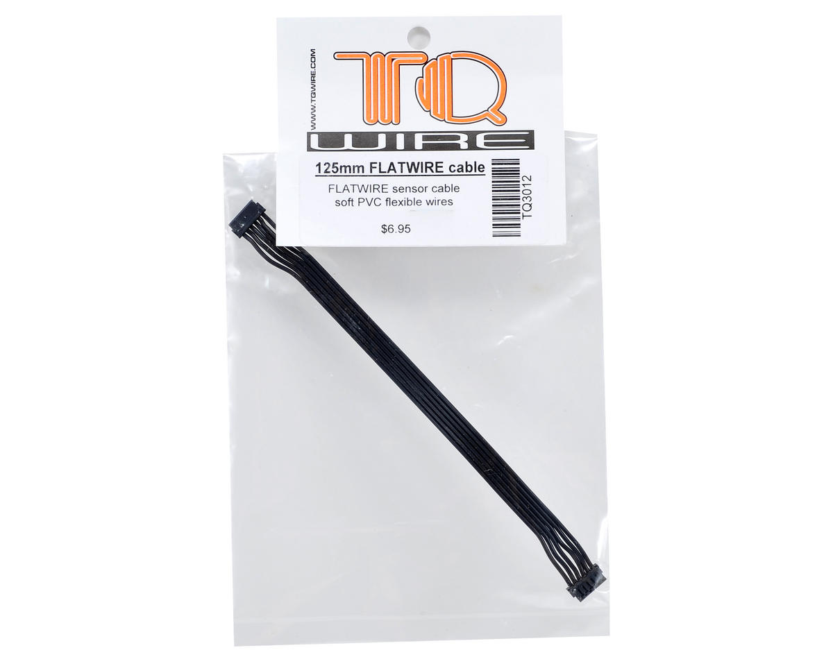 TQ Wire Flatwire Sensor Cable (125mm)