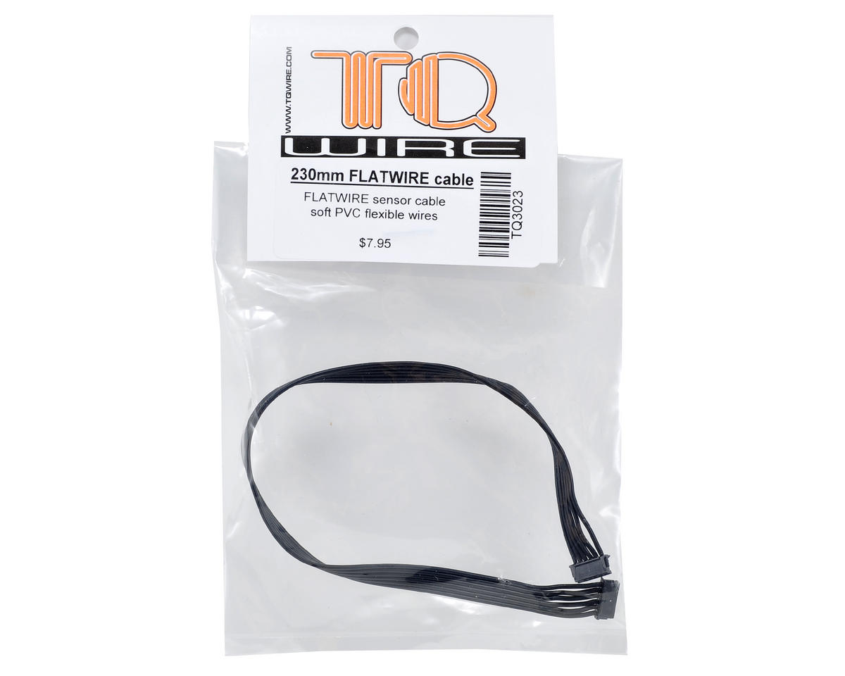 TQ Wire Flatwire Sensor Cable (230mm)