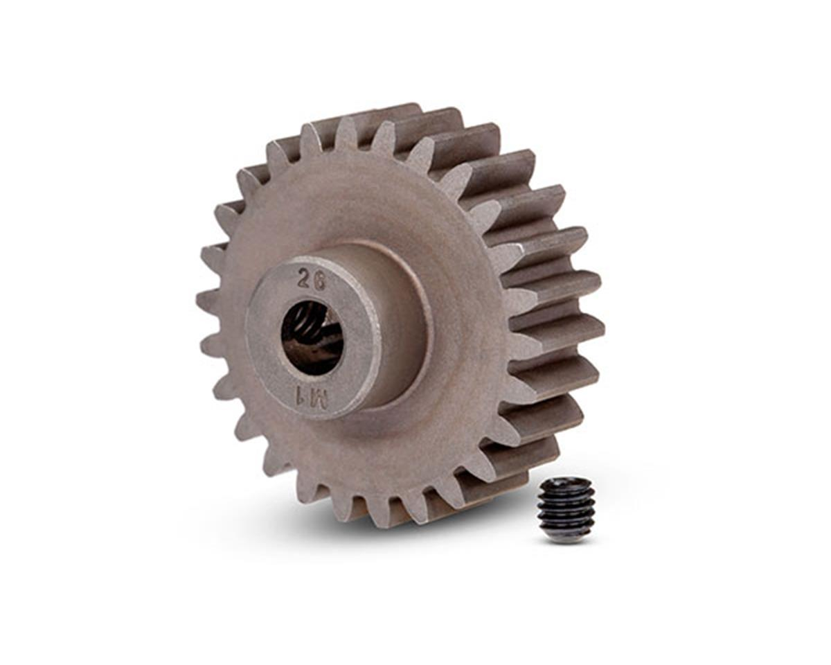 Traxxas Mod 1 Steel Pinion Gear 5mm Shaft (26) (compatible with steel spur gears) TRA6497