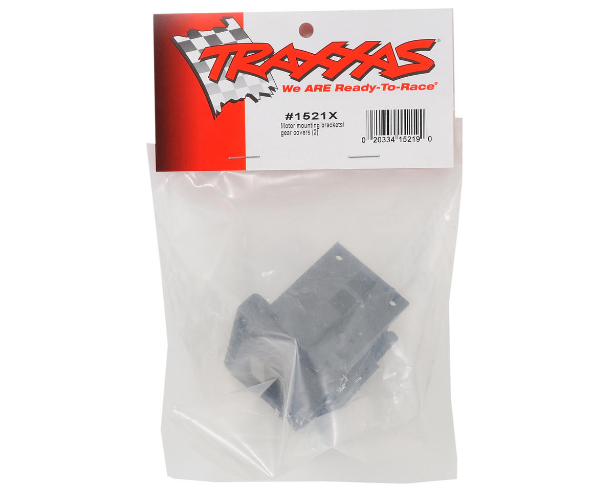 Motor Mounting Bracket & Gear Cover Set by Traxxas