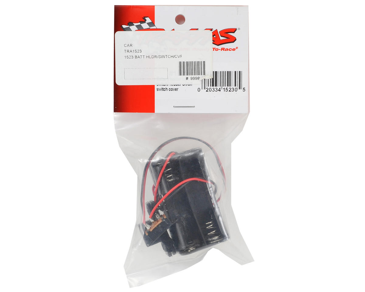 "Traxxas 4-Cell ""AA"" Battery Holder w/Switch Cover"
