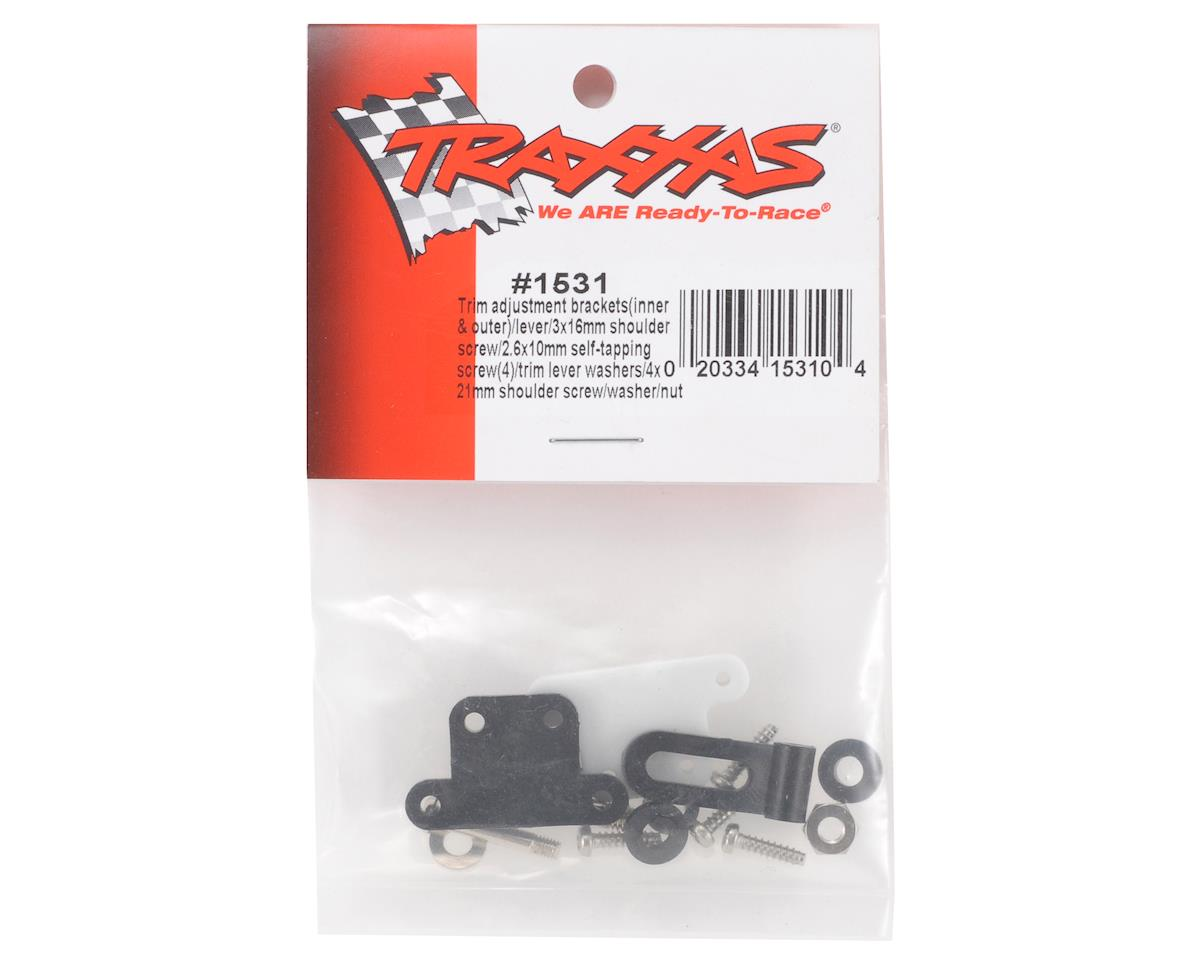 Trim Adjustment Bracket & Lever by Traxxas