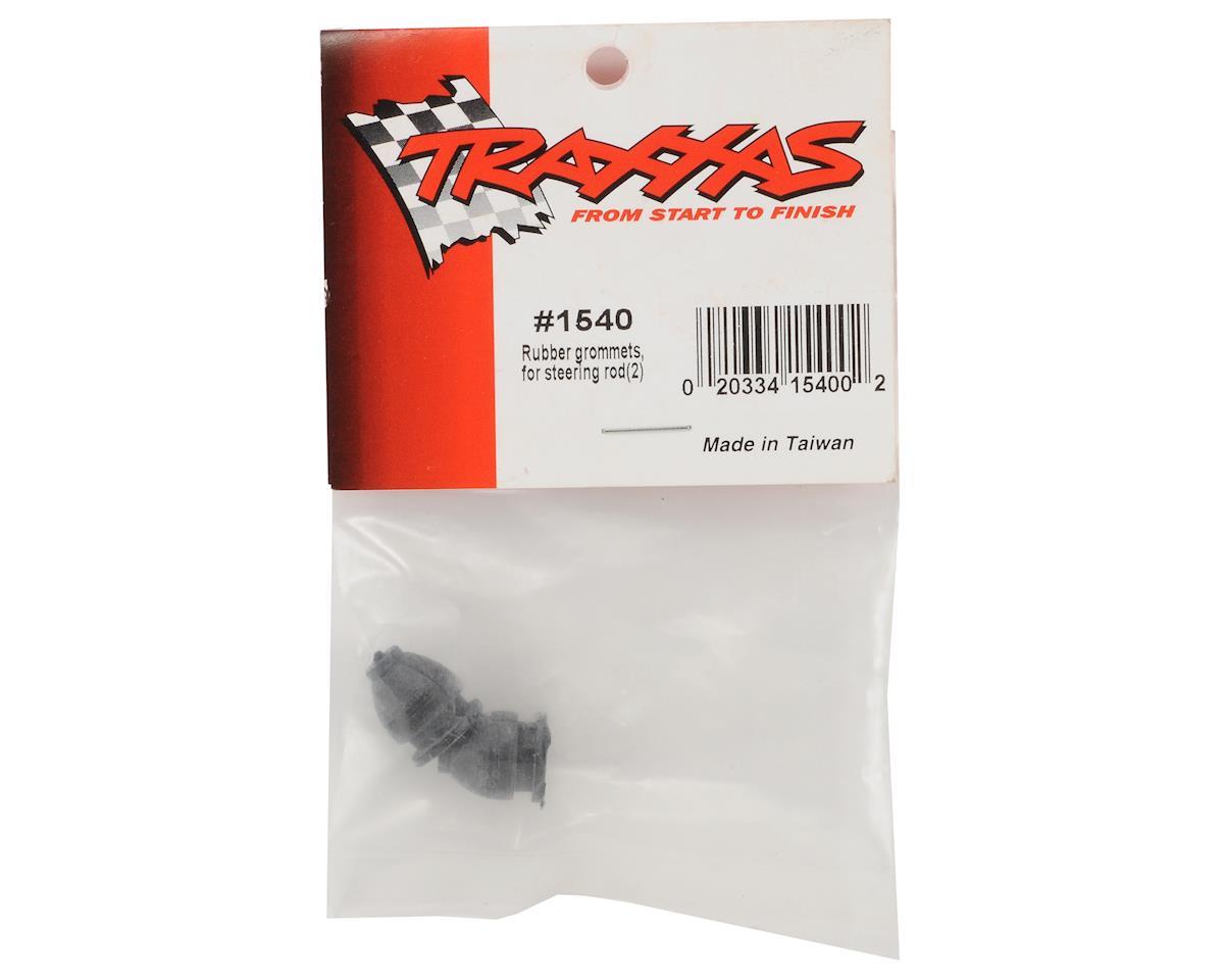 Traxxas V1 Rubber Steering Rod Grommet Set (2)