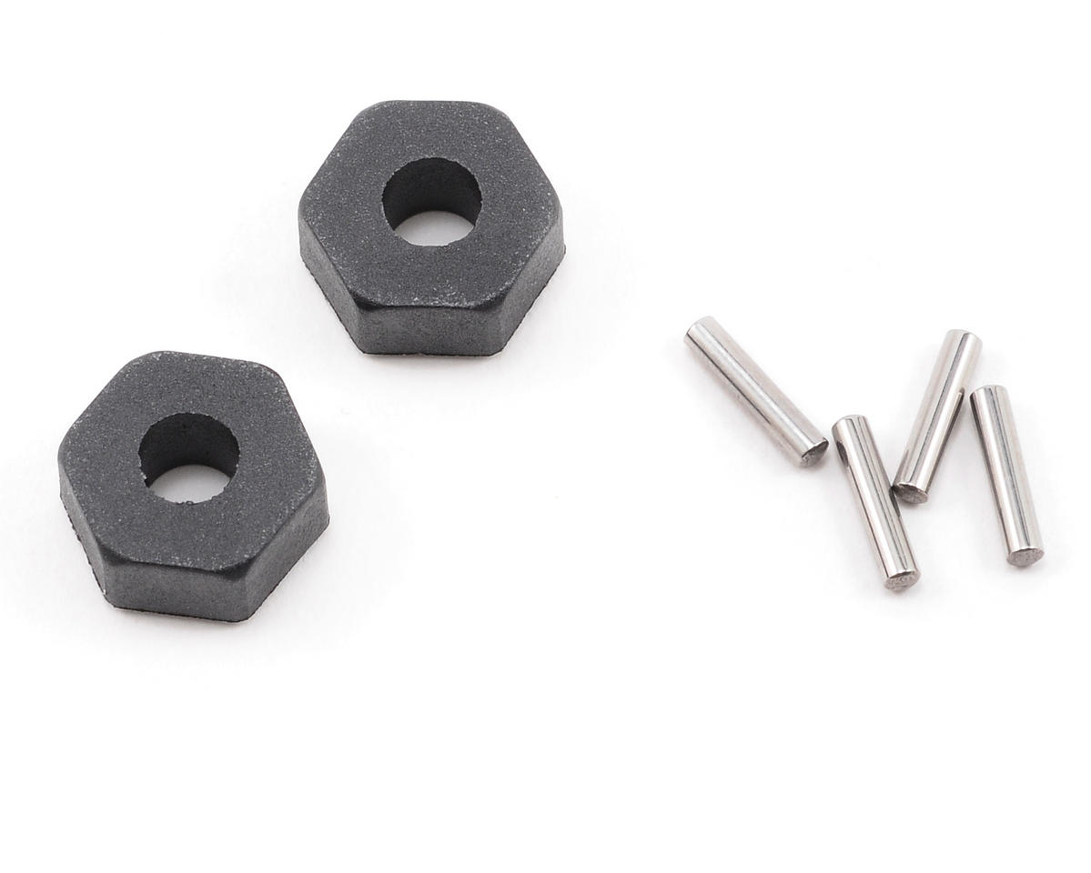 Traxxas Nitro 4-Tec 12mm Hex Stub Axle Pin & Collar Set